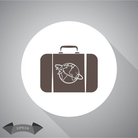 travel bag: Travel bag icon