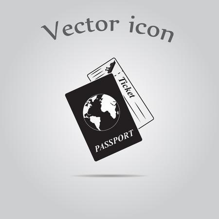 overseas: Travel documents icon
