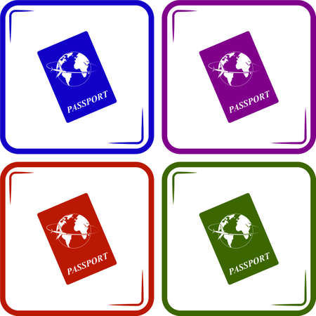 emigration: Passport icon
