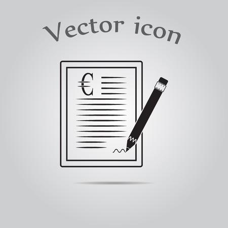 accord: The euro contract icon.