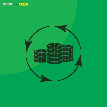 signos de pesos: monedas en circulación