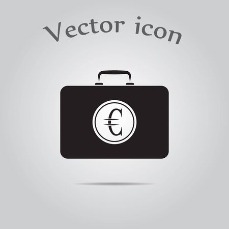 is closed: Closed Case with euro Illustration