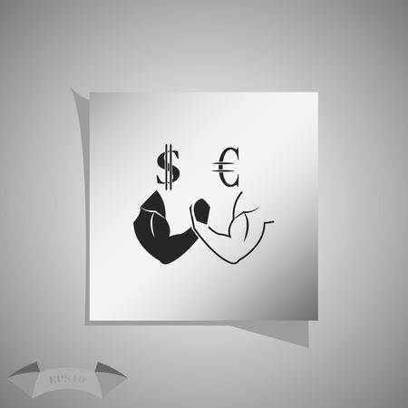 wrestle: Dollar vs Euro icon