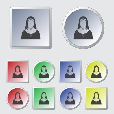 mantle: Nun icon