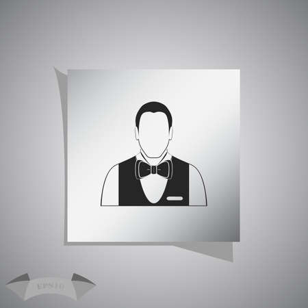 butler: Waiters Vector icon