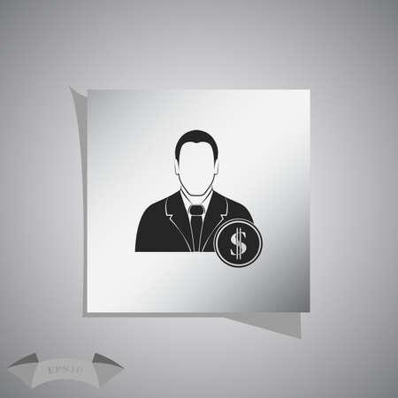 banker: Banker Vector icon