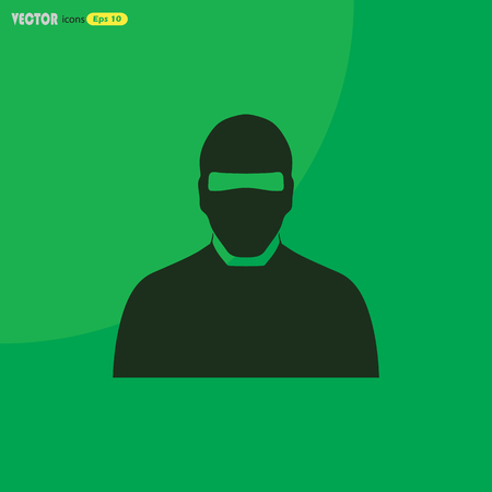 brigand: Man in balaclava Illustration