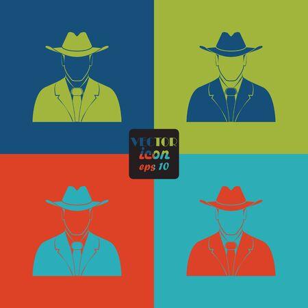 mafia: Mafia vector icon Illustration