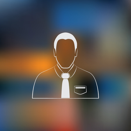 manager: Manager vector icon Illustration