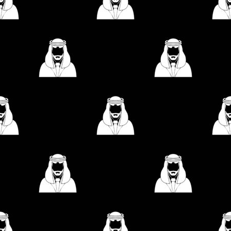 arab people: Arabic man avatar Icon