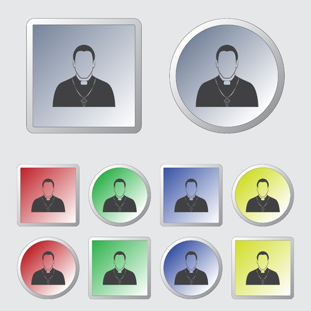 father: Priest father icon