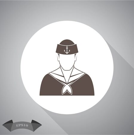 specialty: Sailor Vector icon