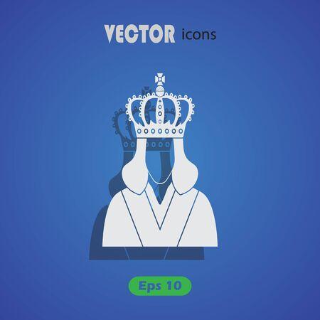 monarchy: Queen icon