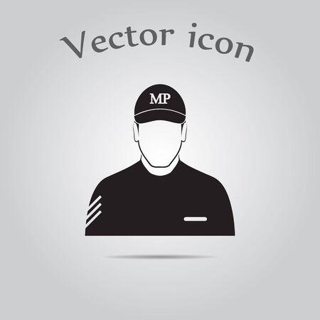 serviceman: Soldier icon