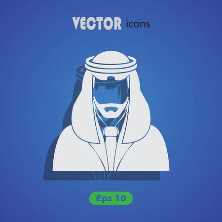 arabic man: Arabic man avatar Icon