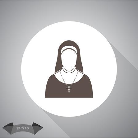 hoping: Nun icon