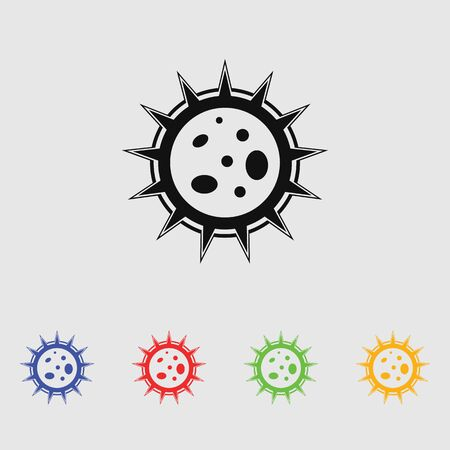 virus icon: Virus icon