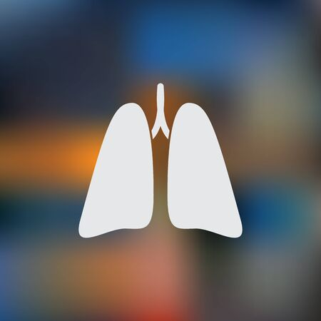 respiratory protection: Lungs icon