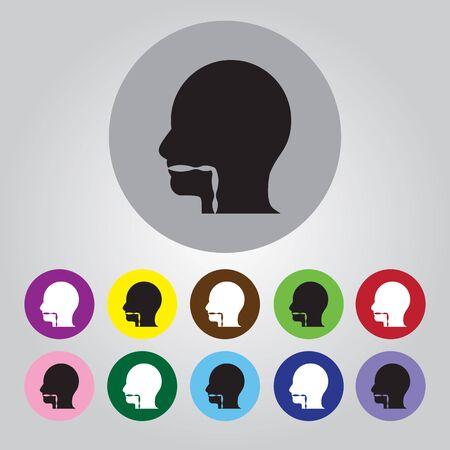 throat: Throat icon