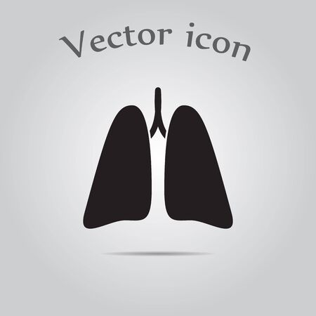 bronchi: Lungs icon