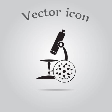 microbial: Microscope icon