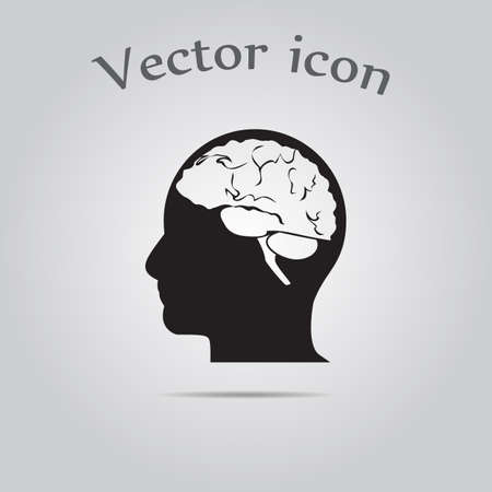 mental object: Think design  icon