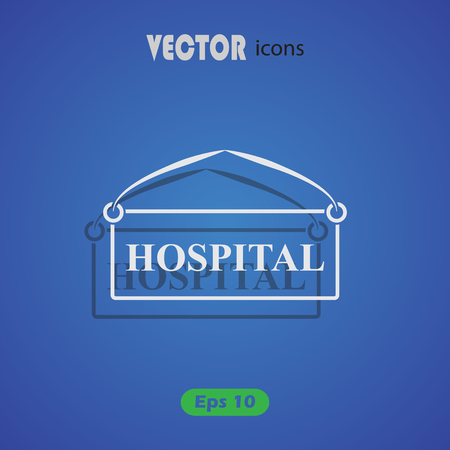 haste: Hospital plate icon