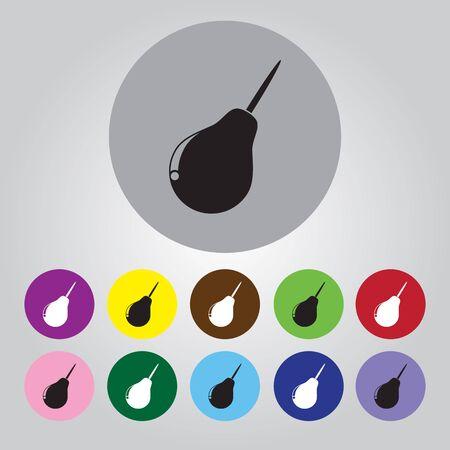 enema: Enema icon Illustration