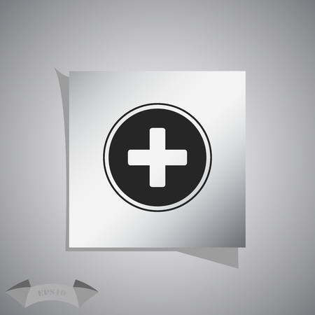 aide: Medical cross icon