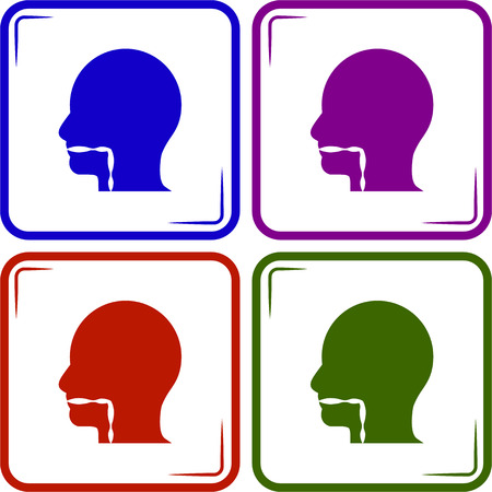 sinus: Throat icon