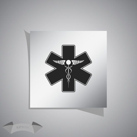 medical sign: medical sign icon