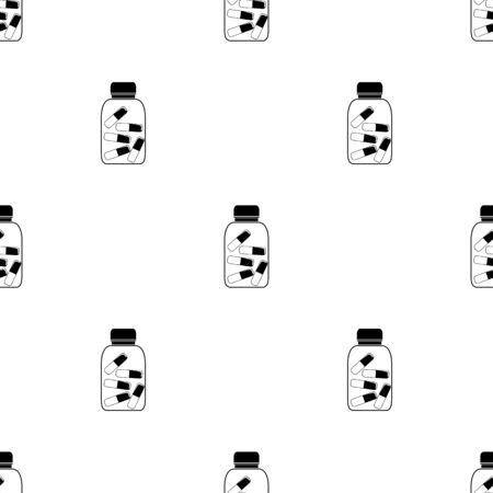 pills bottle: pills bottle icon Illustration