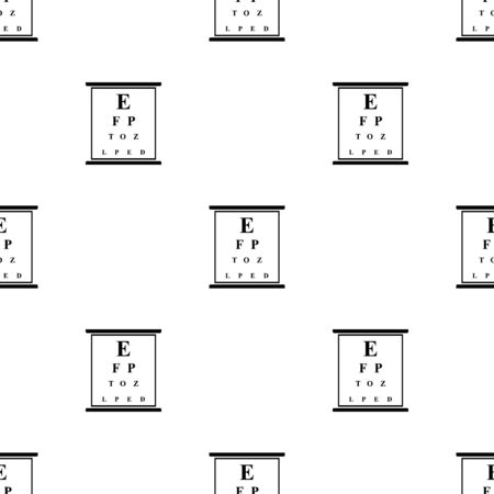 eye test: Eye test chart