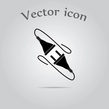 socket adapters: Electric plug icon