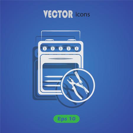 appliances: Repair household appliances icon