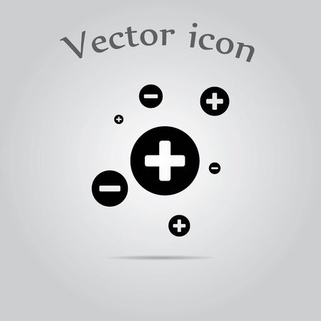 convergence: electron simple icon
