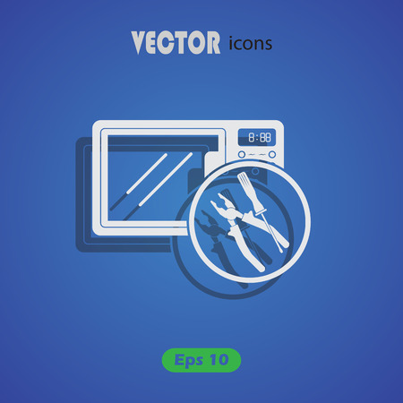microwave: microwave repair icon