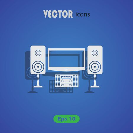 home theater: Home theater icon