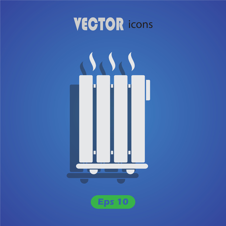 heater: Heater icon Illustration