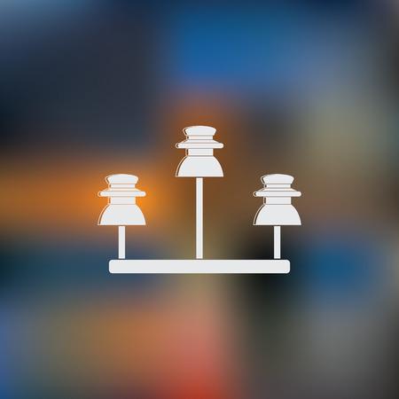 insulator: high voltage electrical insulator