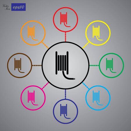 coil: coil cable icon