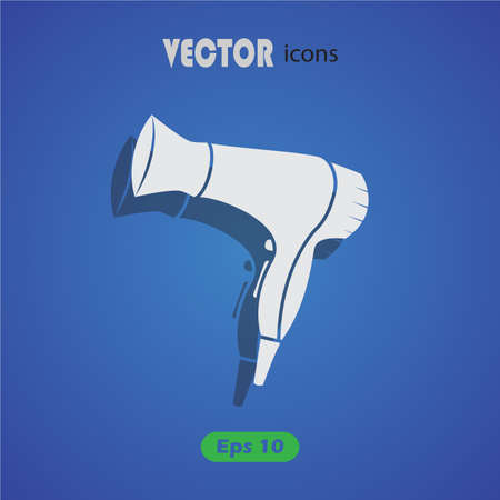hairdryer: hairdryer Icon. Illustration