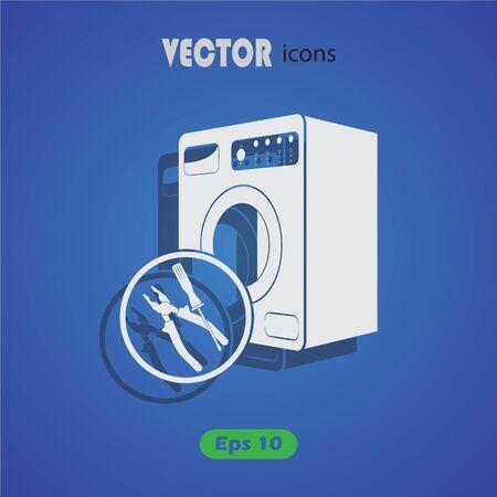 fitter: Washing machine repair icon