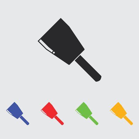 lug: Copper cable lug icon Illustration
