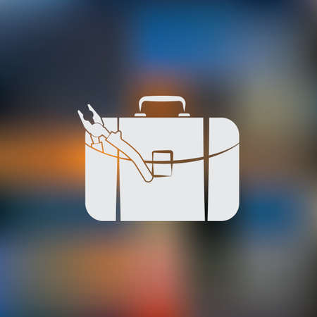 tooling: Toolbox simple icon.