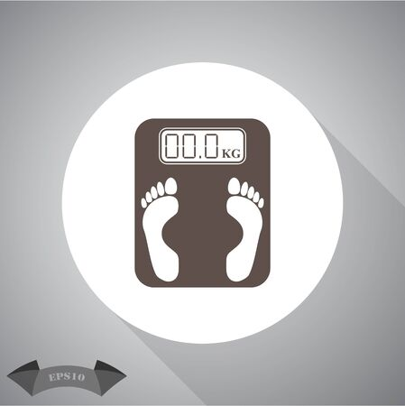 weighing machine: Electronic weighing machine Icon