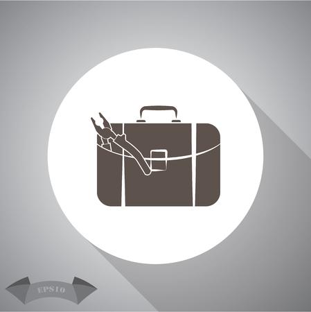 simple: Toolbox simple icon.