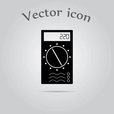 multimeter: Multimeter Simple  Icon.