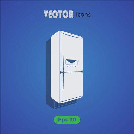 home product: refrigerator icon