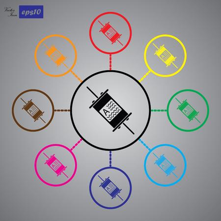 Electric fuse icon